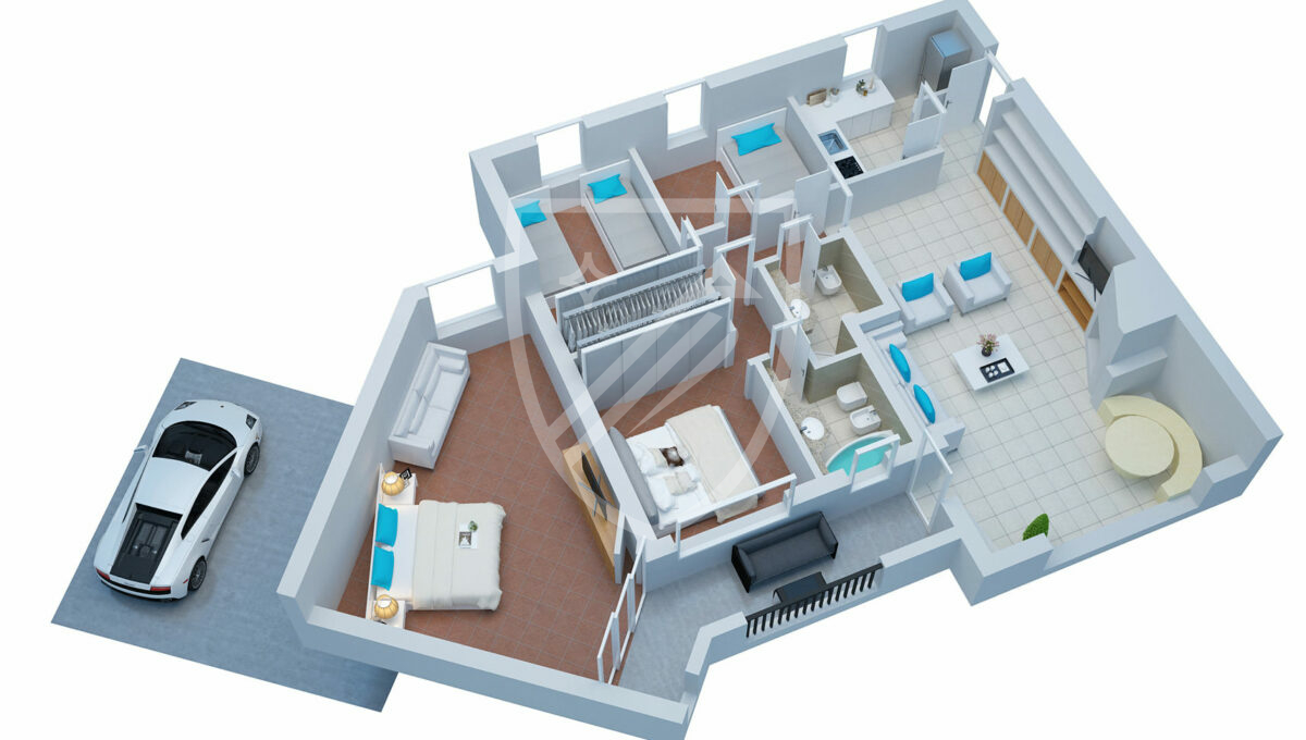 Porto Cervo Center Luxury Apartment (30)